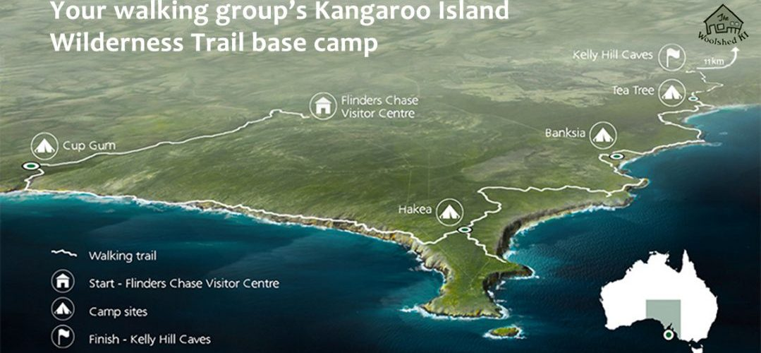Tourism chiefs hope Kangaroo Island's 66-kilometre walking trail will become a global drawcard. The Woolshed KI is an ideal base camp for your walking group.